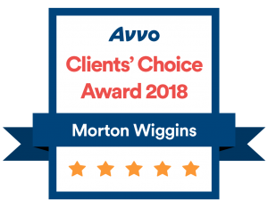 Top Attorney AVVO Badges